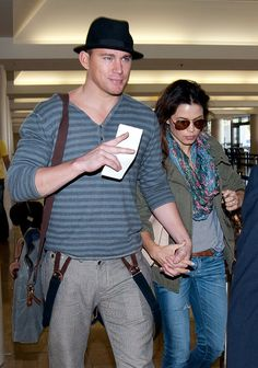 Channing Tatum Photo - Channing Tatum and Jenna Dewan at LAX