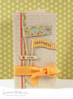 from Make a Card Monday on K.Werner's blog--love her stuff!