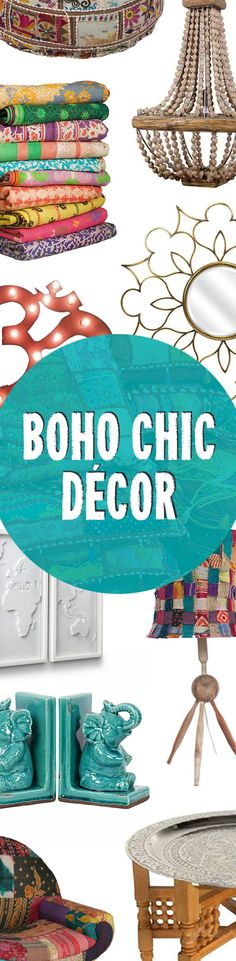 Bohemian Modern Home Designs | Up to 60% Off at dotandbo.com budget friendly home deocr #homedecor #decor #diy