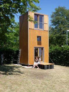 """""""German architectural studio Slawik has created a portable home that fits into the size of a standard shipping container. Dubbed HomeBox, the multi-purpose home has been designed so it can be easily transported to various locations for temporary or permanent use. Due to its compact size and transportability the home can also double as emergency housing."""""""