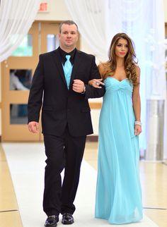 Tiffany Blue Bridesmaid and Groomsman