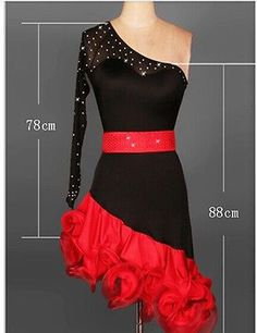 Simple latin dress
