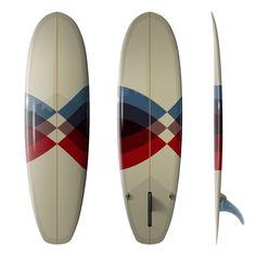 Driftwood Caravan x Surfing With Friends 6'8 Super Stubby