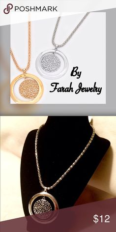 "✨Just In✨New! Filigree Necklace by Farah Jewelry Beautiful Filigree necklace by Farah Jewelry! Great with sweaters, turtlenecks, and deep v-cut blouses. Very versatile!  Necklace Size : 18"" + 2"" L