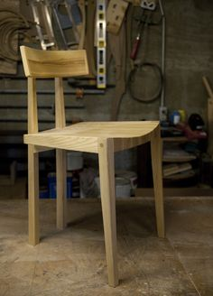 chair prototype by john kapel. photo by leslie williamson.