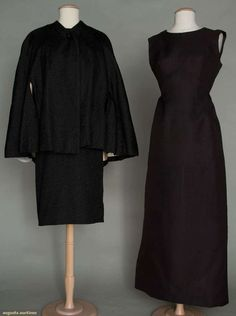 Two Balenciaga Dresses, 1960s, Augusta Auctions, March 30, 2011 - St. Pauls, Lot 203