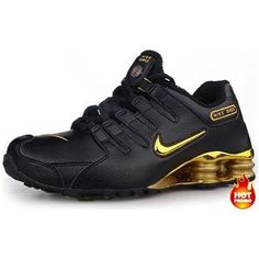 Chaussures Nike Shox NZ Noir/ Or - : Nike Chaussure Pas Cher,Nike Blazer and Timerland Mens Nike Shox, Nike Shox Nz, Nike Shoes Cheap, Nike Free Shoes, Cheap Nike, Buy Cheap, Nike Free Flyknit, Nike Free Runs, Nike Shoes Outlet