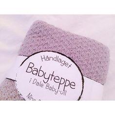Ladybirds Nest @ladybirdsnest håndlaget strikketeppe strikkepledd i dalebaby ull(