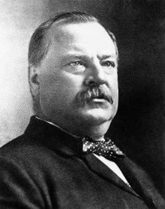 Historical Artwork from 1892 US President Portrait - 4 x 6 - Gloss Grover Cleveland Photograph