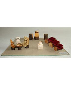 Bordteater med Guldlok og de tre bjørne