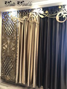 Curtain Designs For Bedroom, Stores, Crafts, Home Decor, Blinds, Veil, Curtains, Manualidades, Decoration Home