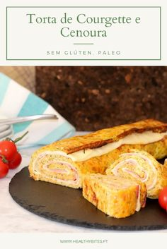 Receita de Torta de Courgette e Cenoura Paleo Diet, Diet Tips, Healthy Recipes, Healthy Food, Cornbread, French Toast, Gluten Free, Cooking, Breakfast