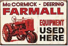 Farmall Tractor Magnet