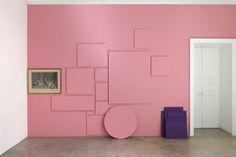 photos amovibles, mise en relation par visiteurs-participants http://www.galleriesinparis.com/exhibitions/rutault-perrotin/