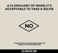 A Flowchart Off When It's Acceptable To Take A.. #lol