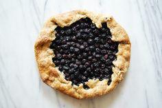 Blueberry Galette - Feeding an Italian