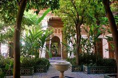 Palais Bahia : un des nombreux joayx de #Marrakech à visiter