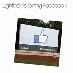 Though Facebook's Instagram acquisition is still under the scalpel of the FTC, the social networking behemoth acquires another photo sharing startup Lightbox.