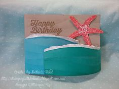Stampin' Up! Bendy Fold Card. Picture Perfect.