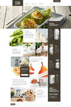 Food and web design
