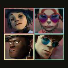 "Pusha T and Mavis Staples join the Gorillaz on ""Let Me Out"", the latest release from the upcoming album Humanz. Listen below. Previously: Gorillaz ft. Damon Albarn, Gorillaz Albums, Gorillaz Wiki, Gorillaz Noodle, Grace Jones, Trip Hop, Tim Burton, Itunes Music, Album Covers"