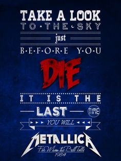 For Whom The Bell Tolls/Metallica