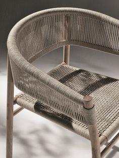 #archiproducts Kilt. Corda intrecciata, teak, acciaio