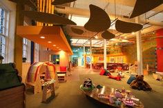 Delightful Modern Kids Cafe: 87 Cool Interior Designs https://www.futuristarchitecture.com/16708-kids-cafe.html