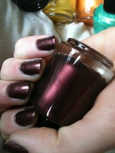 The All Natural Face - Midnight Plum Nail Polish, $7.00 (http://www.theallnaturalface.com/midnight-plum-nail-polish/)
