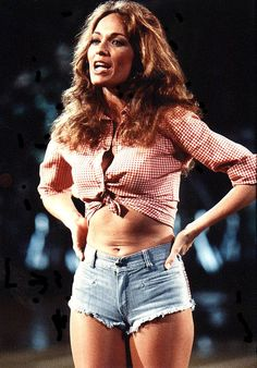 Catherine Bach as Daisy Duke in 'The Dukes of Hazzard',