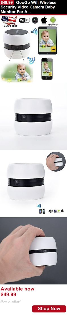 Baby Safety Monitors: Googo Wifi Wireless Security Video Camera Baby Monitor For Android/Ios Tablet Pc BUY IT NOW ONLY: $49.99
