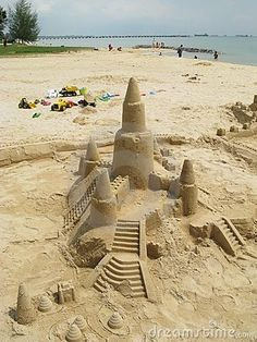 An extra day would allow me to indulge in a bit of youthful play! Sand castles anyone?