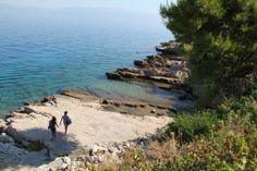 Veli Bok, beautiful beach in Stomorska