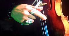 The gorgeous hand of David II from the Making of Music