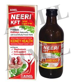 NeeriKFT is a scientifically proven  formulation helps to maintain normal kidney functions