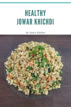 This video is about Healthy Jowar Khichdi Recipe. Ingredients: whole Jowar ( soaked overnight and cooked in pressure cooker for whistles) cup ye. Coconut Recipes, Veg Recipes, Vegetarian Recipes, Cooking Recipes, Healthy Recipes, Cooking Tips, Jowar Recipes, Easy Indian Recipes, Ethnic Recipes
