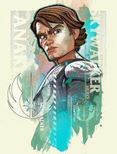 Anakin Skywalker by ~SteveAndersonDesign