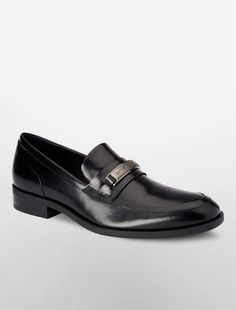 6ea4069b76b72 Calvin Klein douggie leather loafer Leather Loafers, Smooth Leather, Calvin  Klein, Leather Dress