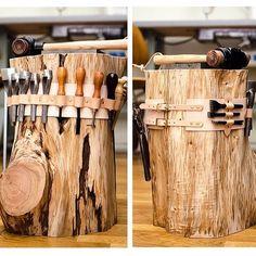 stump bench                                                                                                                                                      More