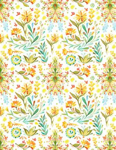 katie daisy pattern. i could pin all of them! so pretty!