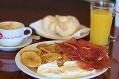 Spanish Breakfast at Delicias de España . Miami Florida