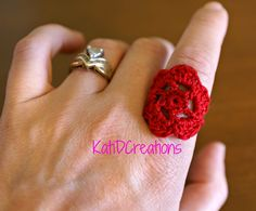 Put a Ring on it... a #Crochet Ring! From KatiDCreations.com