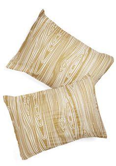 Go With the Grain Pillowcase Set