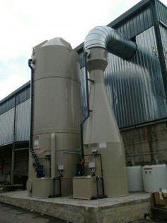 Impianto di deodorizzazione aria