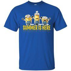 Minion T shirts Summer Is Here Hoodies Sweatshirts