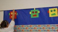 robot decoration