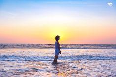 #beach #sunset #white #nature #beauty