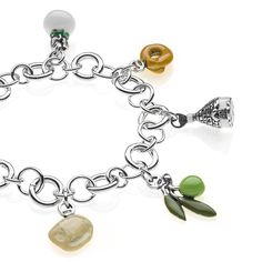 Sterling Silver Luxury Pasta Bracelet - Puglia - 249 Euro Free worldwide shipping over 99 Euro