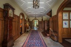 Old mansion Gothic interior