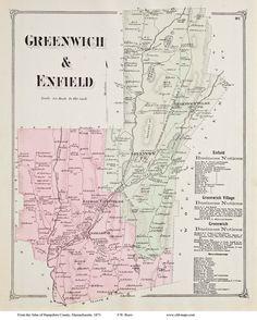 Greenwich & Eenfield, MA